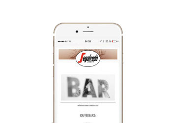 Segafredo App Entwicklung