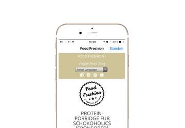 App Entwicklung für Foodfreshion
